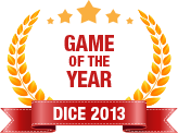 Dice 2013 - Game of  the Year