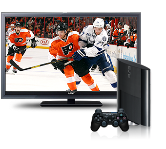 NHL on PS3 system