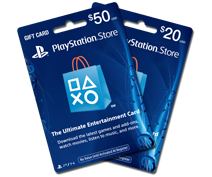PlayStation®Store Cash Cards