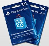 PlayStationNetwork cards