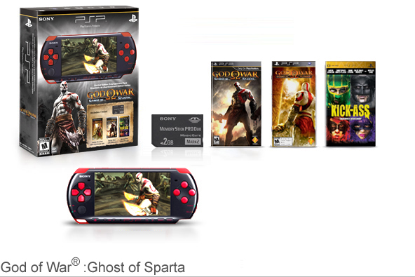 God of War:Ghost of Sparta PSP Entertainment Pack